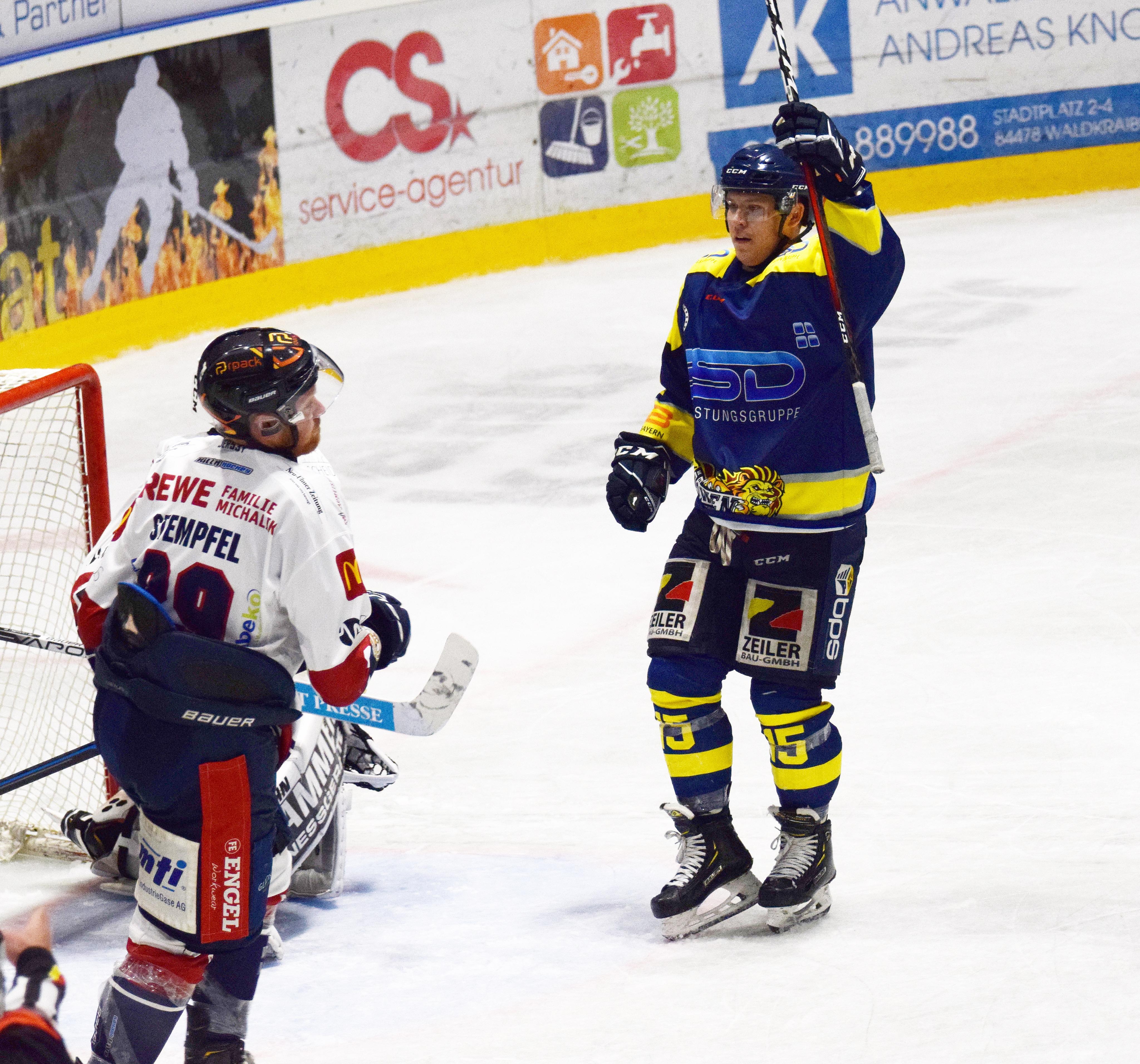 Acht Punkte steuerte Christof Hradek zum 10:0 Sieg gegen den VfE Ulm/Neu-Ulm bei