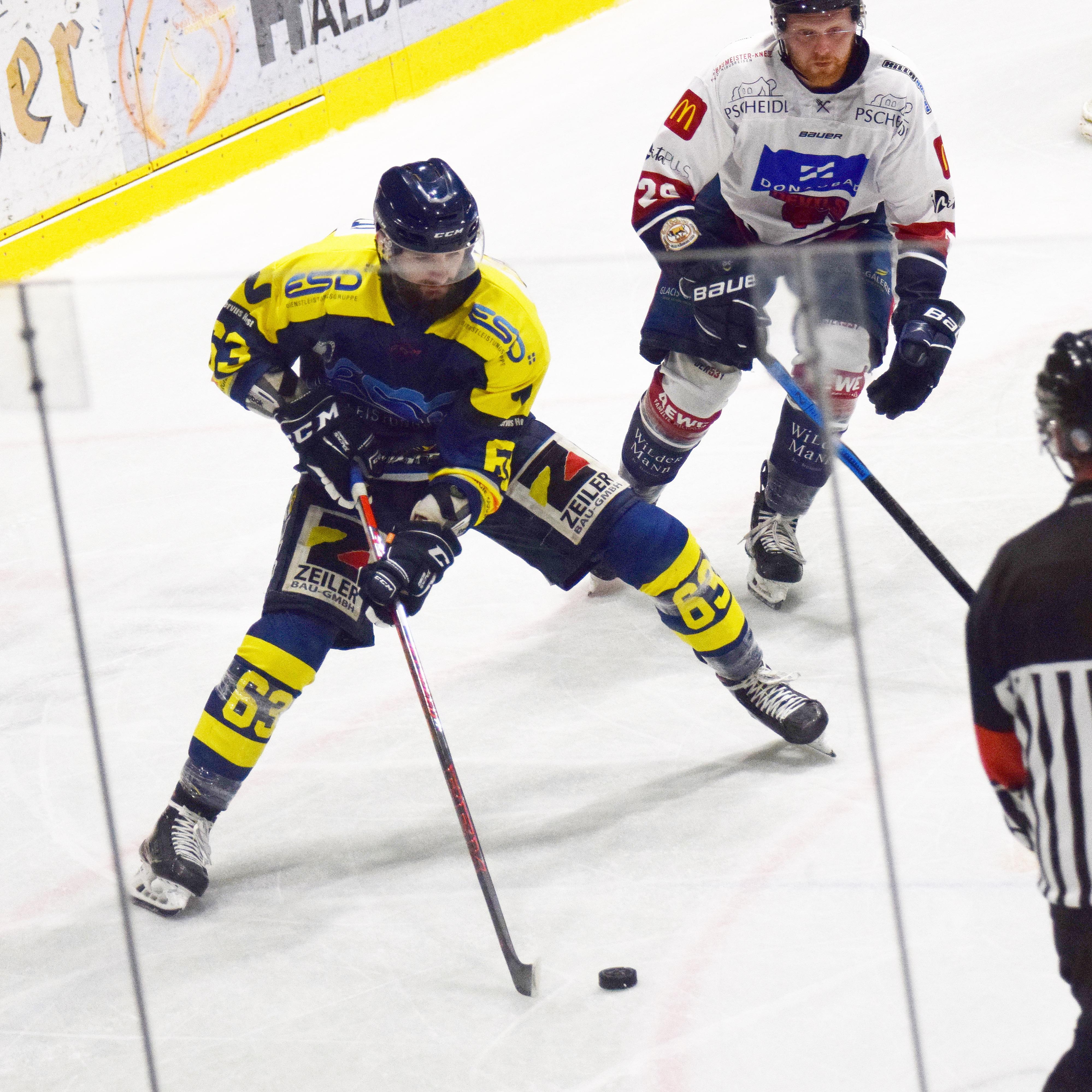 Michal Popelka am 2. Spieltag gegen die Donaudevils aus Ulm