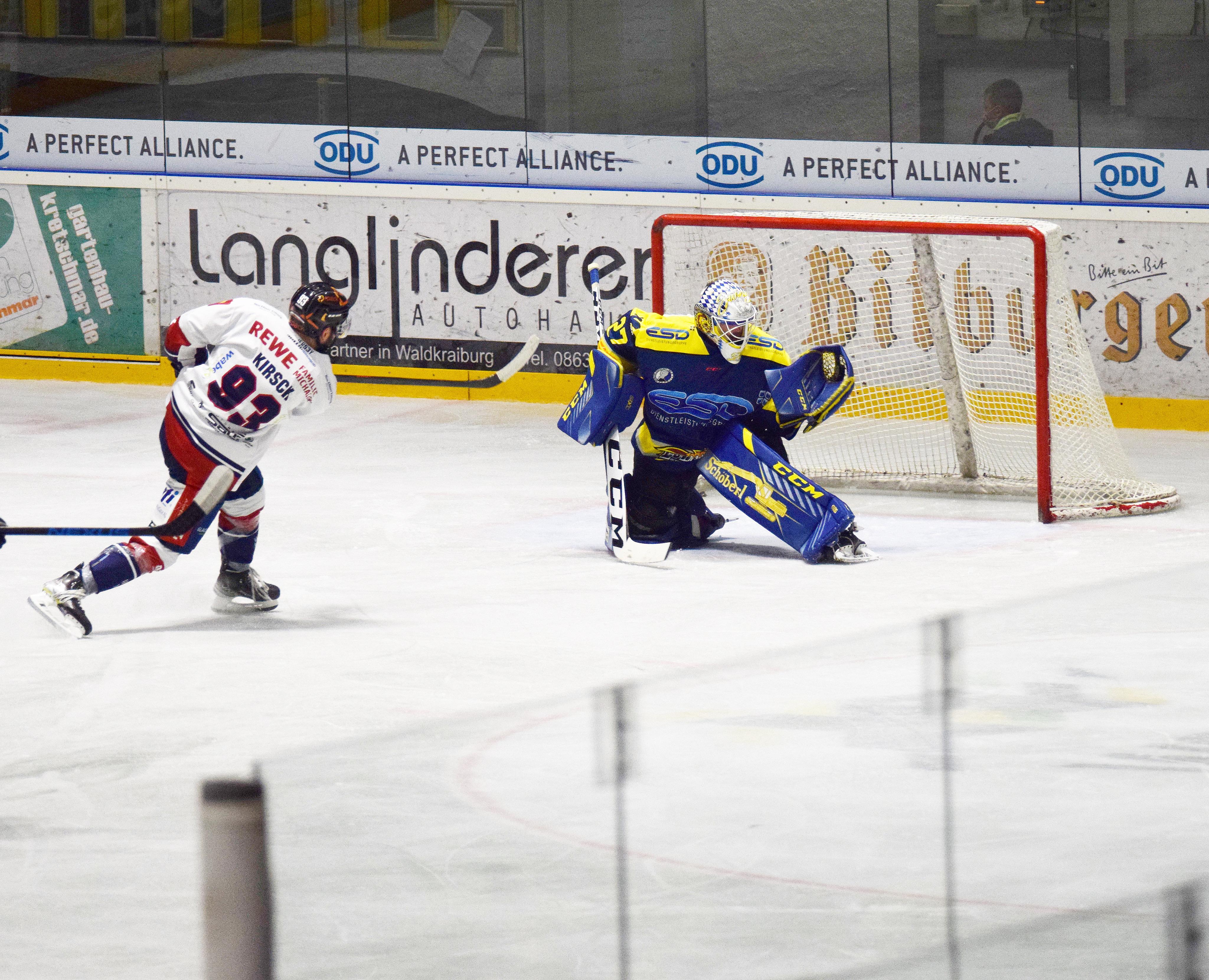 Kevin Yeingst hielt seine Weste sowie seinen Kasten gegen den VfE Ulm/Neu-Ulm sauber.
